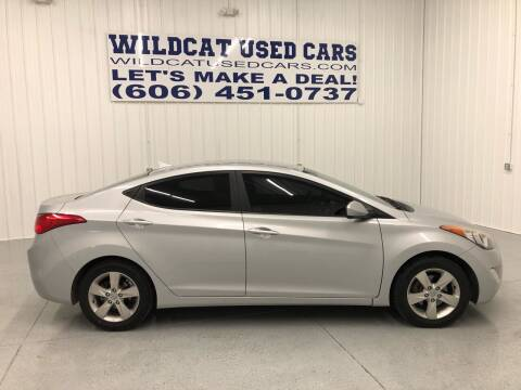 2012 Hyundai Elantra for sale at Wildcat Used Cars in Somerset KY