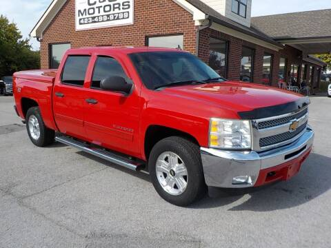 2012 Chevrolet Silverado 1500 for sale at C & C MOTORS in Chattanooga TN