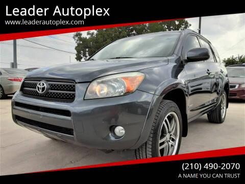 2007 Toyota RAV4 for sale at Leader Autoplex in San Antonio TX
