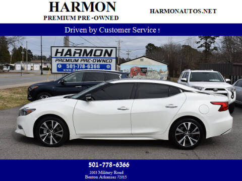 2018 Nissan Maxima for sale at Harmon Premium Pre-Owned in Benton AR