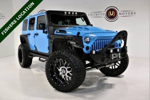2018 Jeep Wrangler JK Unlimited for sale at Unlimited Motors in Fishers IN