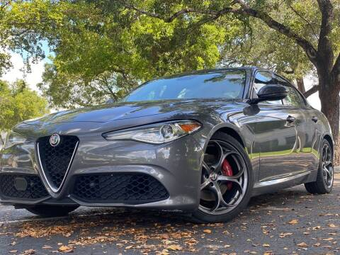 2017 Alfa Romeo Giulia for sale at HIGH PERFORMANCE MOTORS in Hollywood FL