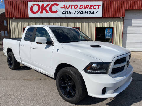 2013 RAM Ram Pickup 1500 for sale at OKC Auto Direct in Oklahoma City OK