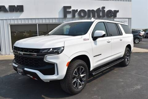 2021 Chevrolet Suburban for sale at Frontier Motors Automotive, Inc. in Winner SD