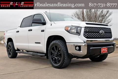 2018 Toyota Tundra for sale at RLB Sales and Leasing in Fort Worth TX
