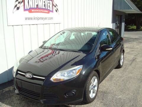 2014 Ford Focus for sale at Team Knipmeyer in Beardstown IL