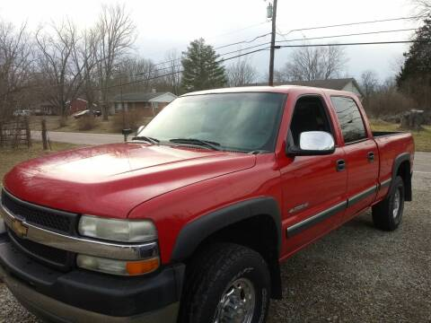 2001 Chevrolet Silverado 2500HD for sale at Beechwood Motors in Somerville OH