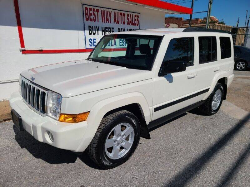 2008 Jeep Commander for sale at Best Way Auto Sales II in Houston TX