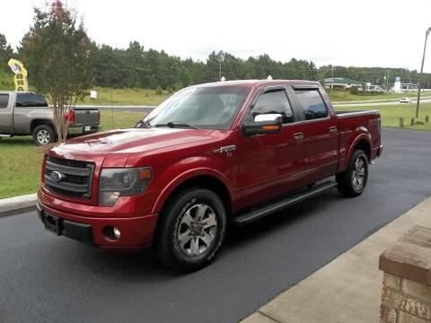 2013 Ford F-150 for sale at Anderson Wholesale Auto in Warrenville SC