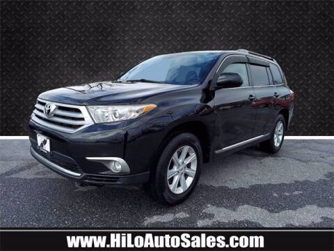 2011 Toyota Highlander for sale at Hi-Lo Auto Sales in Frederick MD