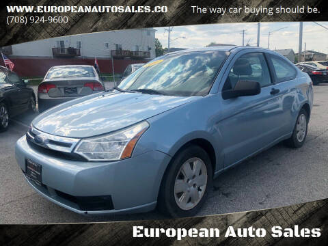 2008 Ford Focus for sale at European Auto Sales in Bridgeview IL