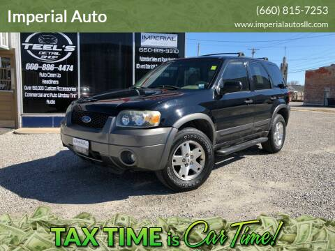 2006 Ford Escape for sale at Imperial Auto of Marshall in Marshall MO