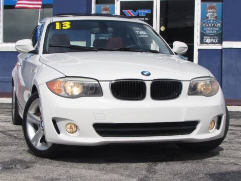 2013 BMW 1 Series for sale at VIP AUTO ENTERPRISE INC. in Orlando FL