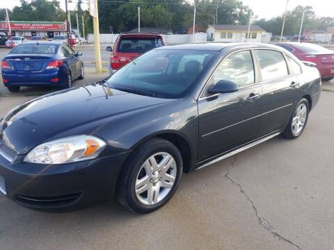 2013 Chevrolet Impala for sale at Nile Auto in Fort Worth TX