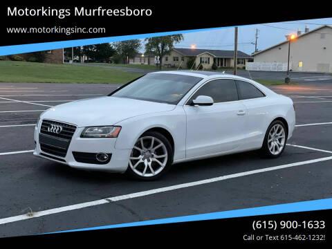 2012 Audi A5 for sale at Motorkings Murfreesboro in Murfreesboro TN