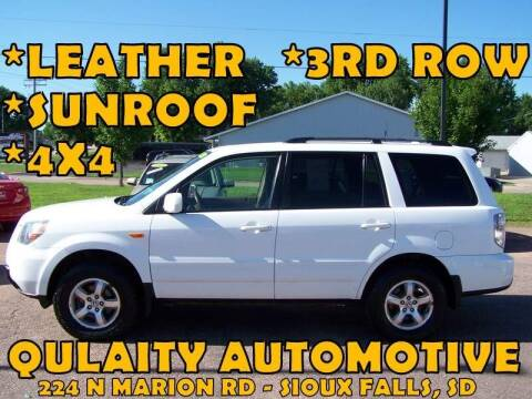 2008 Honda Pilot for sale at Quality Automotive in Sioux Falls SD