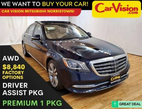 2018 Mercedes-Benz S-Class for sale at Car Vision Mitsubishi Norristown in Trooper PA