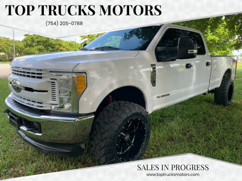 2017 Ford F-250 Super Duty for sale at Top Trucks Motors in Pompano Beach FL