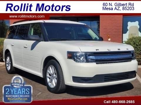 2013 Ford Flex for sale at Rollit Motors in Mesa AZ