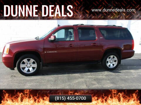 2008 GMC Yukon XL for sale at Dunne Deals in Crystal Lake IL