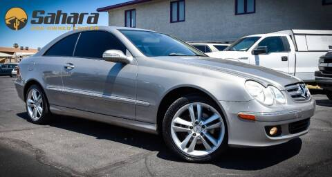 2007 Mercedes-Benz CLK for sale at Sahara Pre-Owned Center in Phoenix AZ