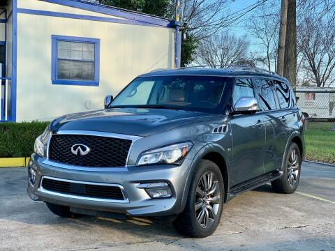 2017 Infiniti QX80 for sale at USA Car Sales in Houston TX