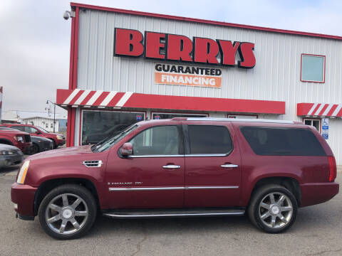 2007 Cadillac Escalade ESV for sale at Berry's Cherries Auto in Billings MT