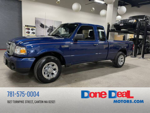2011 Ford Ranger for sale at DONE DEAL MOTORS in Canton MA