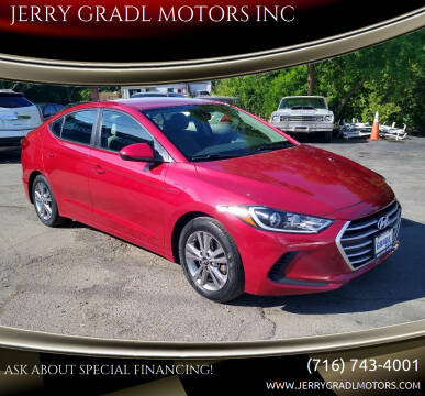 2017 Hyundai Elantra for sale at JERRY GRADL MOTORS INC in North Tonawanda NY