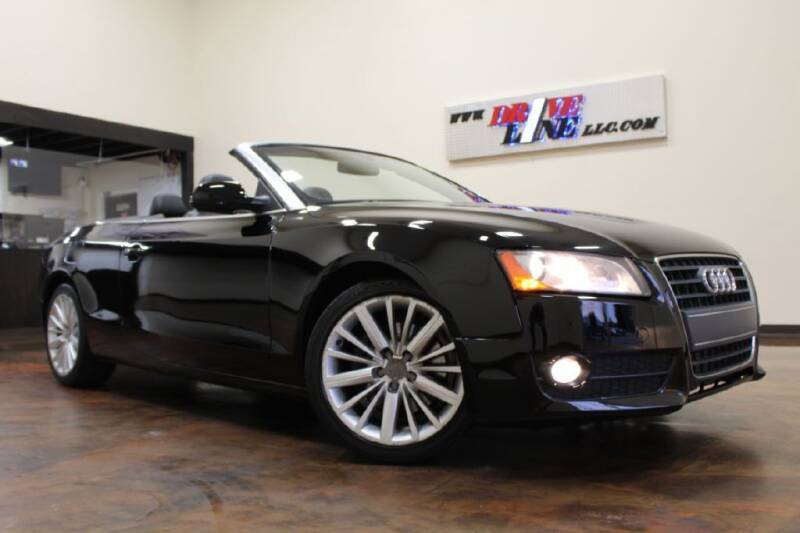 2012 Audi A5 for sale at Driveline LLC in Jacksonville FL