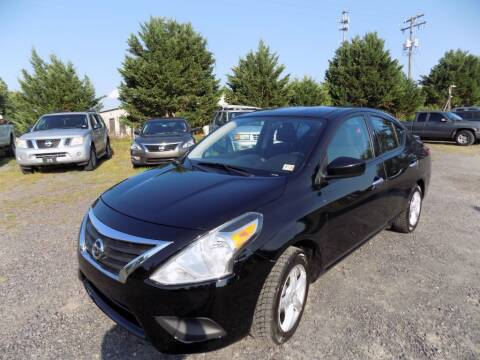 2018 Nissan Versa for sale at PERUVIAN MOTORS SALES in Warrenton VA