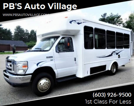 2014 Ford E-Series Chassis for sale at PB'S Auto Village in Hampton Falls NH