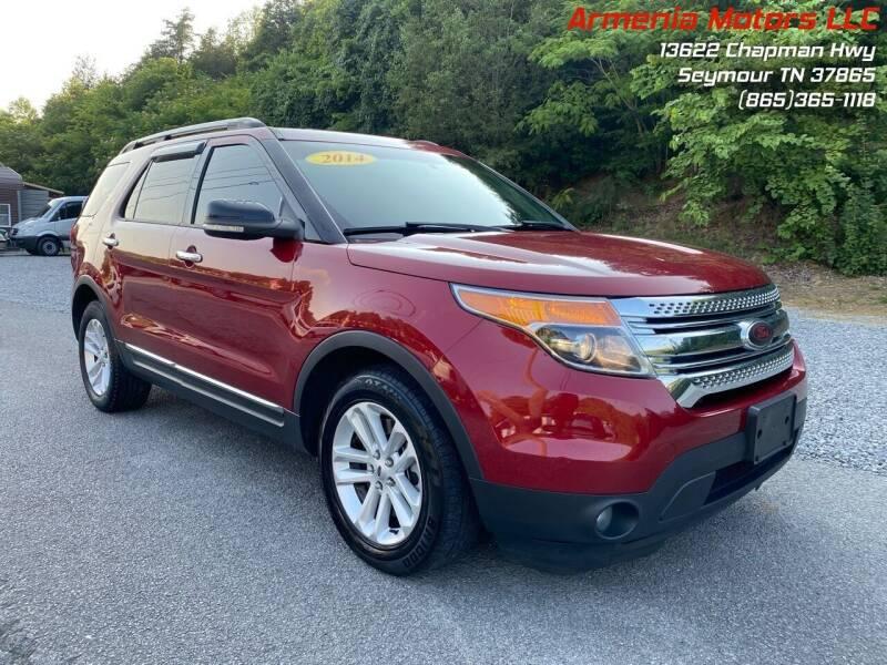 2014 Ford Explorer for sale at Armenia Motors in Seymour TN