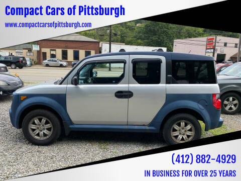 2006 Honda Element for sale at Compact Cars of Pittsburgh in Pittsburgh PA