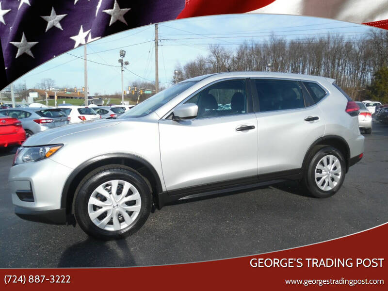 2017 Nissan Rogue for sale at GEORGE'S TRADING POST in Scottdale PA