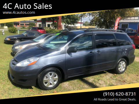 2007 Toyota Sienna for sale at 4C Auto Sales in Wilmington NC