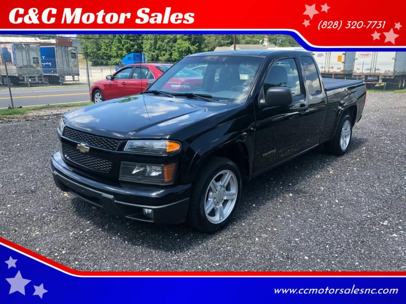 2005 Chevrolet Colorado for sale at C&C Motor Sales LLC in Hudson NC
