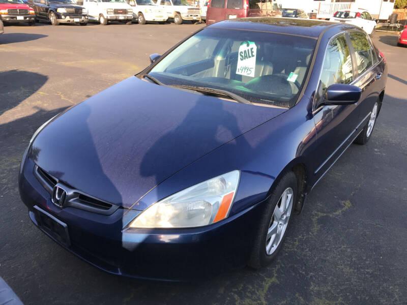 2005 Honda Accord for sale at ET AUTO II INC in Molalla OR