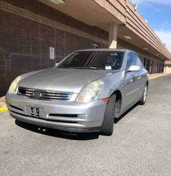 2003 Infiniti G35 for sale at CORTES MOTORS in Las Vegas NV