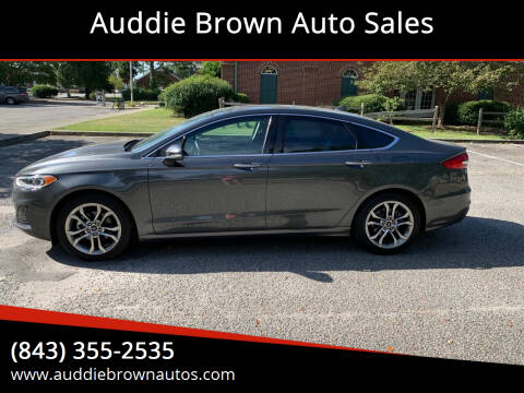 2019 Ford Fusion for sale at Auddie Brown Auto Sales in Kingstree SC