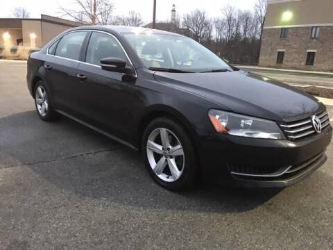 2013 Volkswagen Passat for sale at Third Avenue Motors Inc. in Carmel IN