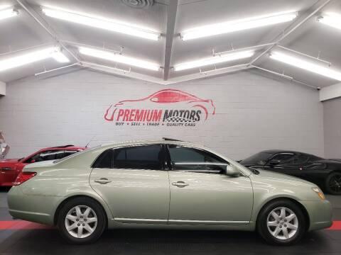 2005 Toyota Avalon for sale at Premium Motors in Villa Park IL