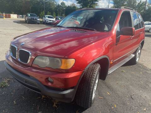2003 BMW X5 for sale at Atlantic Auto Sales in Garner NC