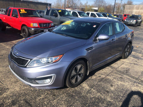 2012 Kia Optima Hybrid for sale at Smart Buy Auto in Bradley IL