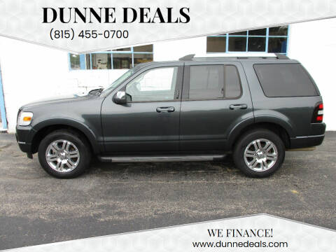 2010 Ford Explorer for sale at Dunne Deals in Crystal Lake IL