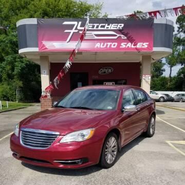 2011 Chrysler 200 for sale at Fletcher Auto Sales in Augusta GA