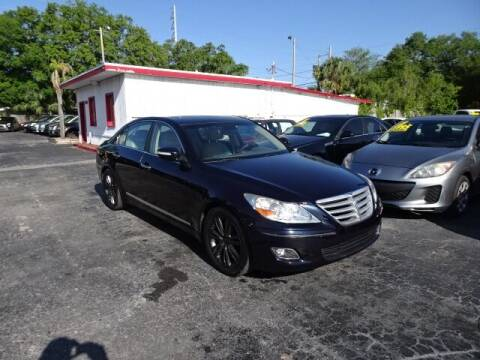 2009 Hyundai Genesis for sale at DONNY MILLS AUTO SALES in Largo FL