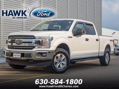2018 Ford F-150 for sale at Hawk Ford of St. Charles in Saint Charles IL