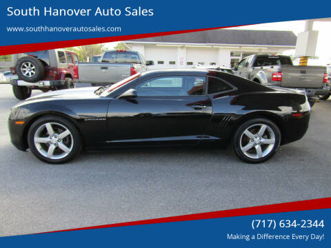 2011 Chevrolet Camaro for sale at South Hanover Auto Sales in Hanover PA