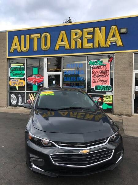 2017 Chevrolet Malibu for sale at Auto Arena in Fairfield OH